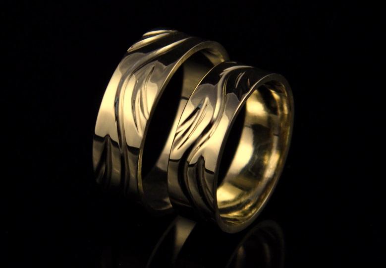 Svadobné obrúčky zlaté 059 98379907d50